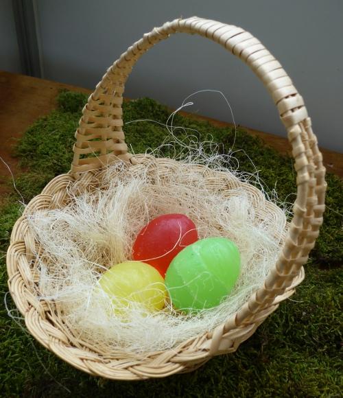 äggformade tvålar