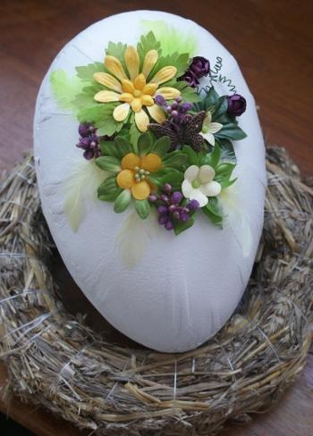 dekorerat ägg