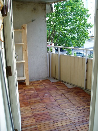 inreda balkong