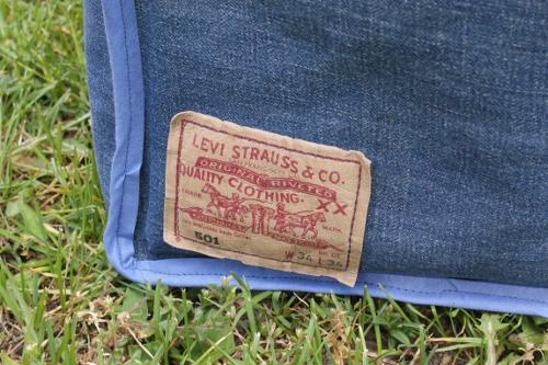sy av gamla jeans