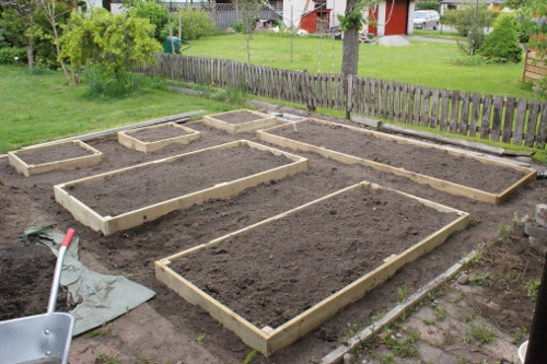 trädgårdslådor