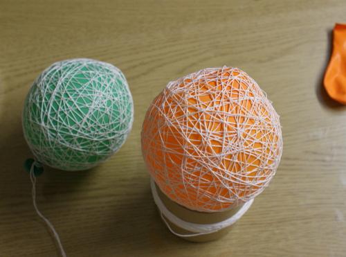 garnlindad ballong