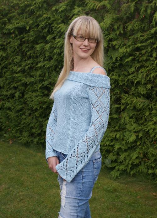 handgjord tröja