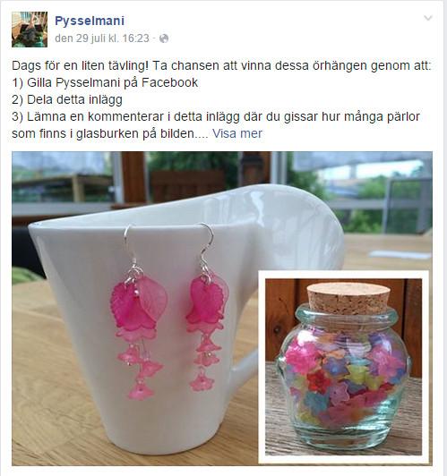 Facebooktävling