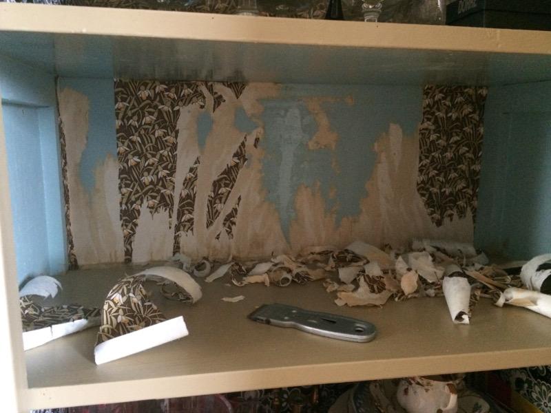 renovering glasskåp1a